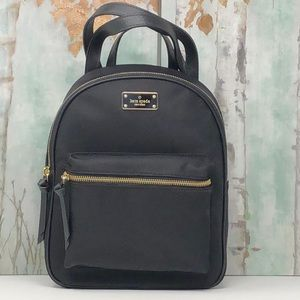 NWT Kate Spade small nylon backpack